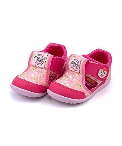 [ソレイケ! アンパンマン] それいけ!アンパンマン 女の子 男の子 キッズ ベビー 子供靴 運動靴 通学靴 サマーシューズ サンダル スニーカー 通気性 クッション性 屈曲性 EE カジュアル レジャー アウトドア APM B24 ピンク 13.0cm,ベビーサンダル,女の子,