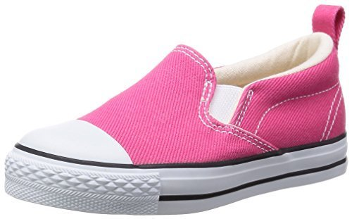[コンバース] CONVERSE CHILD ALL STAR N COLORDENIM SLIP-ON CD ASN CD S 3CJ810 (ピンク/12),子供用,スリッポン,