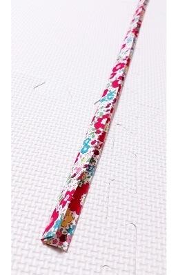 細長い花柄の布,トイストラップ,作り方,ハンドメイド