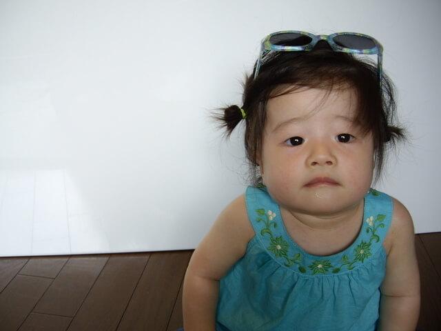 サングラスをかけた女の子,赤ちゃん,サングラス,