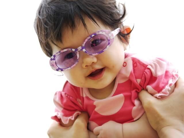 サングラスをかけた赤ちゃん,赤ちゃん,サングラス,