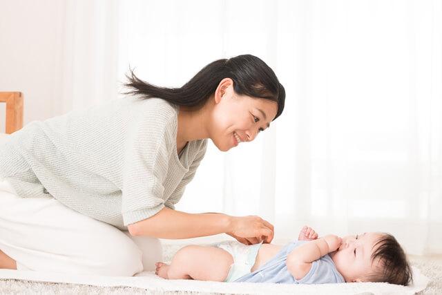 オムツ交換イメージ,赤ちゃん,湿疹,