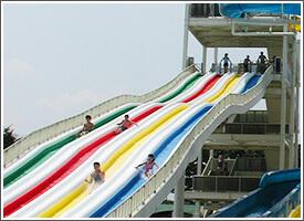 川越水上公園のスライダー,埼玉県,ウォータースライダー,プール