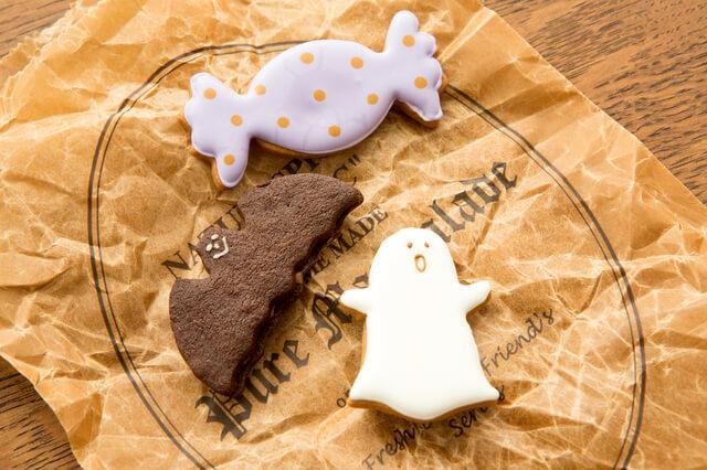 アイシングクッキー,ハロウィン,クッキー,