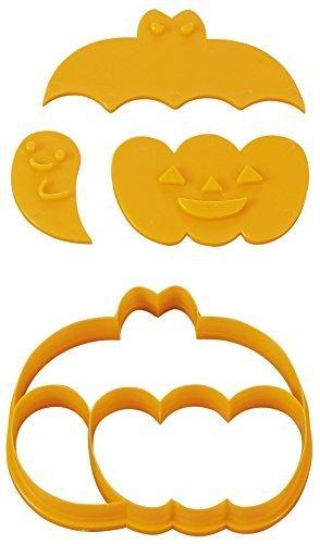 貝印 × COOKPAD 一度にたくさん抜けるかわいいクッキー型 コウモリ・カボチャ・おばけ DL-8001,ハロウィン,クッキー,