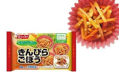 【12パック】 冷凍食品 弁当 きんぴらごぼう 6個 ニッスイ,お弁当,冷凍食品,