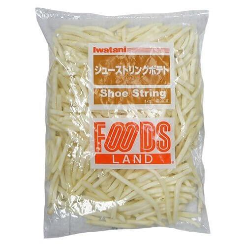 Iwatani フーズランド シューストリングポテト 1kg 冷凍,お弁当,冷凍食品,