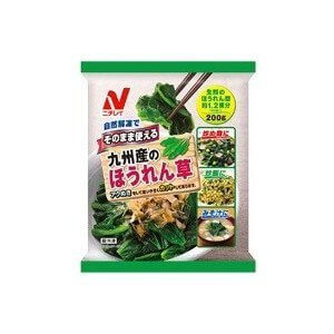 (冷凍食品) ニチレイ 九州産のほうれん草 200g,お弁当,冷凍食品,