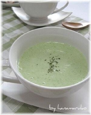 夏バテに!ねばとろオクラとヨーグルトの冷製スープ,レシピ,オクラ,