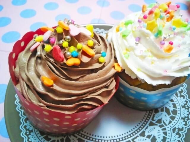 手作りカップケーキイメージ画像,ハロウィン,お菓子,レシピ