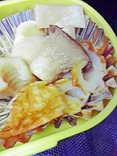 お弁当に☆エリンギとちくわのおだし煮♪,お弁当,ちくわ,
