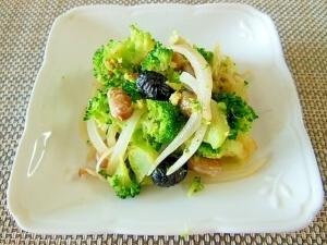 ボイル豆とブロッコリーのマヨネーズ炒め和えサラダ♪,お弁当,野菜炒め,