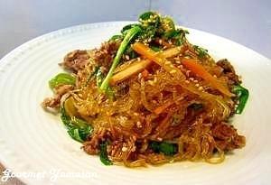 野菜たっぷり簡単♪韓国チャプチェ,お弁当,野菜炒め,