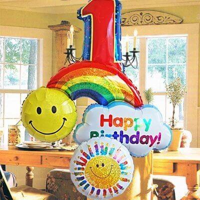 誕生日 バルーンギフト,飾りつけ,ケーキ・プレゼント,誕生日お祝い