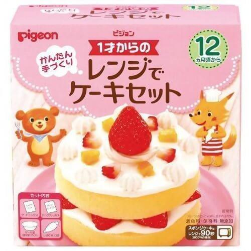 ピジョン 1才からのレンジでケーキセット,飾りつけ,ケーキ・プレゼント,誕生日お祝い