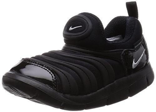 [ナイキ] NIKE DYNAMO FREE (TD) 343938-004 343938-004 (ブラック/メタリックシルバー/15cm),子供,靴,おすすめ