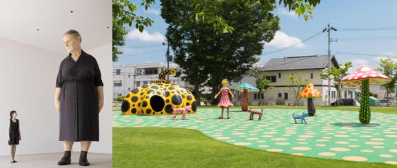 草間彌生、ロン・ミュエクの作品,十和田市現代美術館,青森県立美術館,見どころ