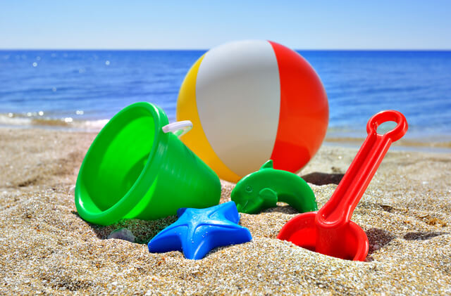 砂遊びグッズ,海水浴,持ち物,