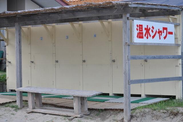 海の家のシャワー室,海水浴,持ち物,
