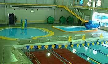 加茂市温水プール,ウォータースライダー,新潟,プール