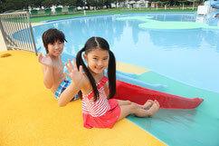 しらこばと水上公園の幼児プール,スライダー,プール,関東