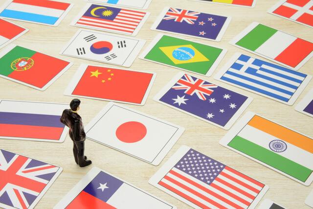 世界の国旗カード,自由研究,簡単,