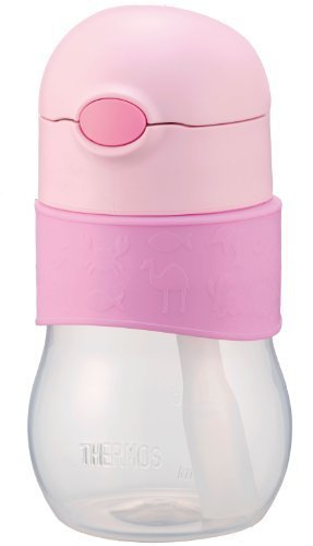 サーモス THERMOS ベビーストローマグ NPA-340 ピンク(P) 340ml 9か月頃から 大容量 もれないベビーマグ,グッズ,おでかけ,暑さ対策