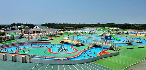 辻堂海浜公園-ジャンボプール,スライダー,プール,関東