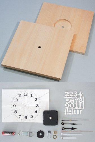 夏休み 冬休み 工作キット ワッツタイム? 角型(大) 手作り時計,ハンドメイド,時計,