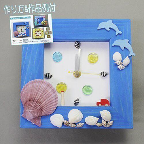 新・海の物語時計,ハンドメイド,時計,