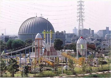 花園中央公園,大阪府,アスレチック,公園