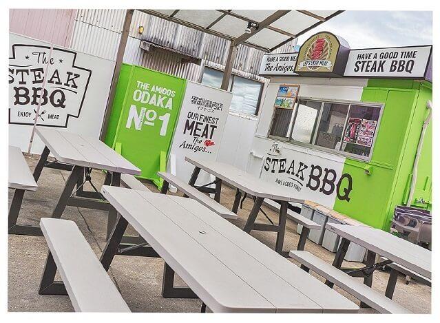 ザ・アミーゴス大高店 The Steak BBQコート,手ぶら,バーベキュー,愛知県