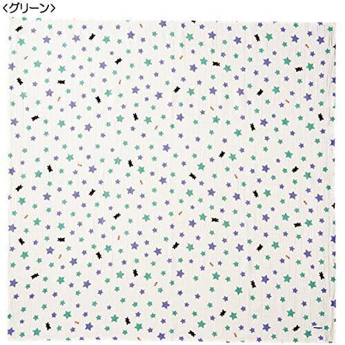 [ミキハウス] MIKIHOUSE 【ミキハウス(ベビー)】 ダブルガーゼ素材のマルチケット 46-8244-956 グリーン,赤ちゃん,ガーゼ,