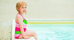 5歳児のママからの相談:「プールやお風呂の後に足を痒がる原因について」,