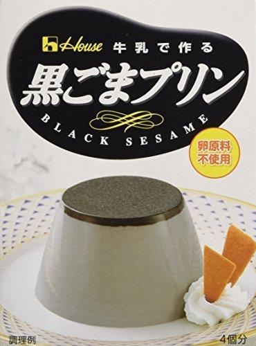 ハウス 黒ごまプリン 70g×5個,プリン,デコレーション,