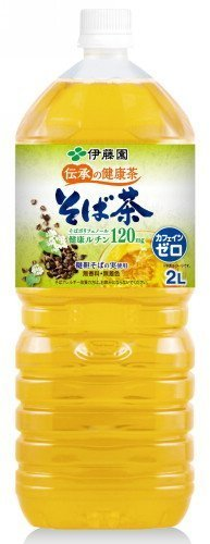 [ケース販売]伊藤園 伝承の健康茶 そば茶 2L×6本,ノンカフェイン,お茶,妊婦