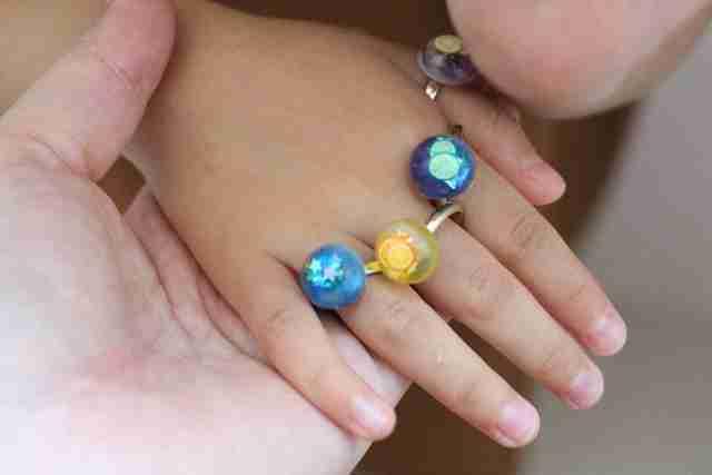 UVレジン 指輪 手作り パーツクラブ,パーツクラブ,指輪,100均