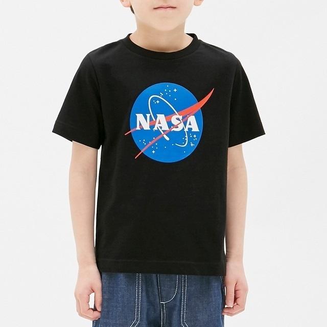 グラフィックT(半袖)NASA1,GU,送料無料,