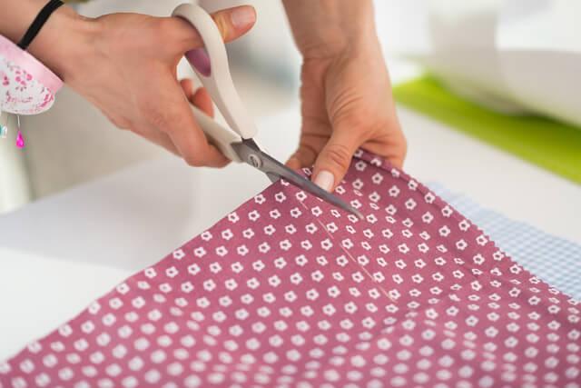 布を裁断します,授乳クッション,手作り,簡単