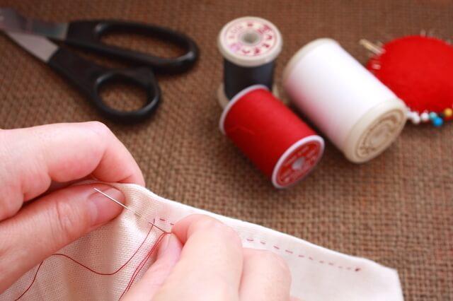 手縫いでもOK,授乳クッション,手作り,簡単
