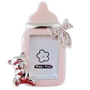 哺乳瓶ベビー フォトフレーム ベビーピンク,哺乳瓶 ,スマホ ,ケース
