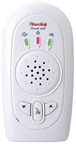 日本育児 ベビーモニター デジタル2WAY スマートベビーモニターII 新生児から対象 離れていても赤ちゃんの声をクリアにキャッチ,ベビーモニター,