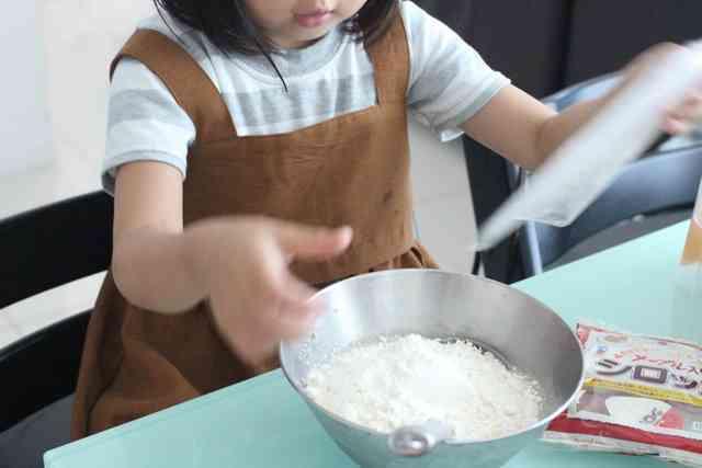 ホットケーキ作り 何歳からできる?,カルディ,ホットケーキ,