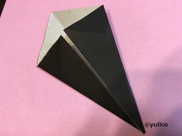 帽子作り方1,ハロウィン,折り紙,