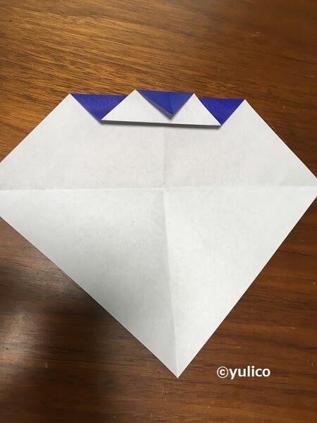 フランケン作り方,ハロウィン,折り紙,