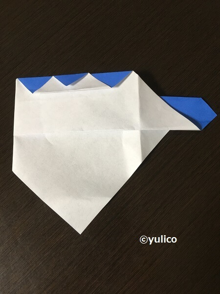 フランケン作り方2,ハロウィン,折り紙,