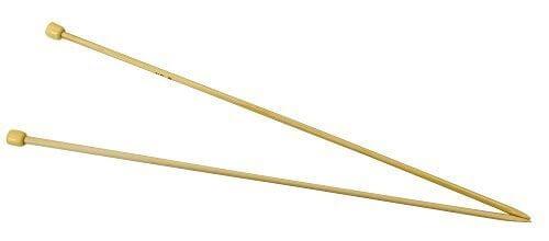 ハマナカ アミアミ 玉付2本針 長さ33cm 8号 H250-100-8,マフラー,編み物,簡単