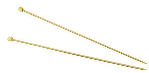 ハマナカ アミアミ 玉付2本針 長さ33cm 5号 H250-100-5,ベビー,ニット帽,編み方