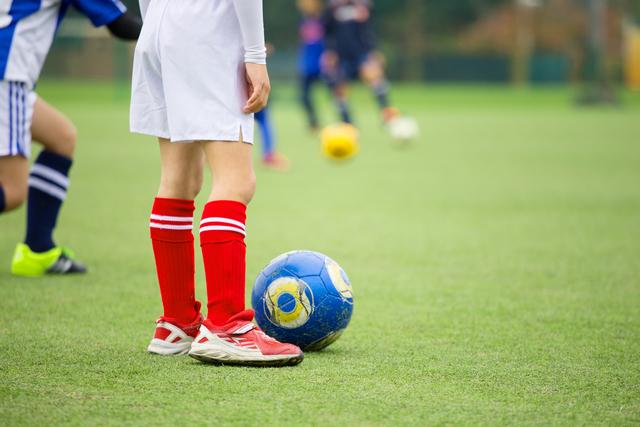 サッカー少年,習い事,スポーツ,