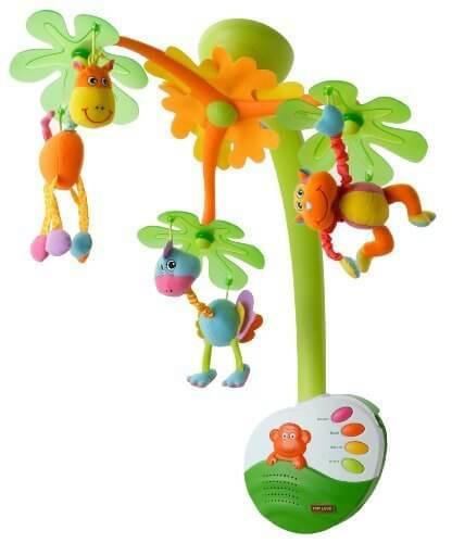 TINY LOVE スイート・アイランド・ドリームス・モービル,ベビーベッド,おもちゃ,メリー